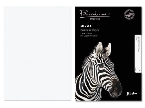 Blake Premium Paper 120gsm A4 Brilliant White [Pack 50] Ref 37676