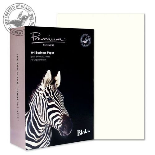 Blake Premium Paper Wove Finish 120gsm A4 High White [Pack 500] Ref 35677