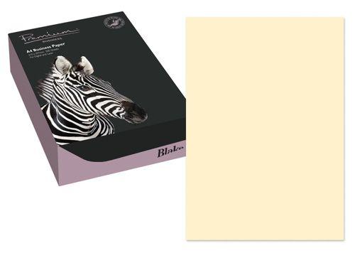 Blake Premium Paper Wove Finish 120gsm A4 Cream [Pack 500] Ref 61677
