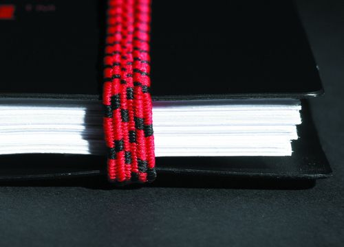 Black n Red Notebook Wirebound Polypropylene 90gsm Ruled 140pp A5 Ref 100080140 [Pack 5]