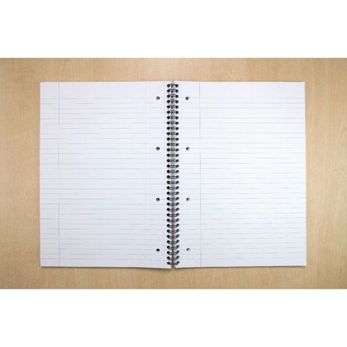 Cambridge EveryDay Notebook Wirebound Recycled 100 Pages 70gsm A4 Ref 400020196 [Pack 5]