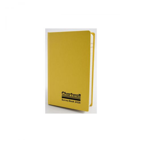 Chartwell Survey Book Level Collimation Weather Resistant Side Opening 80 Leaf 192x120mm Ref 2426Z