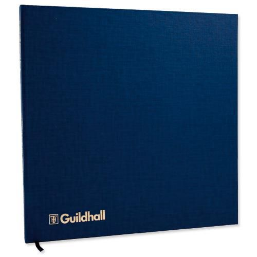 Guildhall Account Book 51 Series 4/16 Petty Cash Column 80 Pages 298x305mm Ref 51/4-16Z
