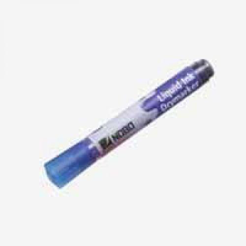 Nobo Liquid Ink Drymarker Drywipe Flipchart OHP Bullet Tip Line Width 3mm Blue Ref 1901075 [Pack 12]