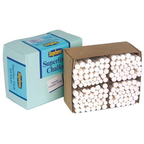 Stephens Superline Chalk White Ref RS522553 [Pack 144]