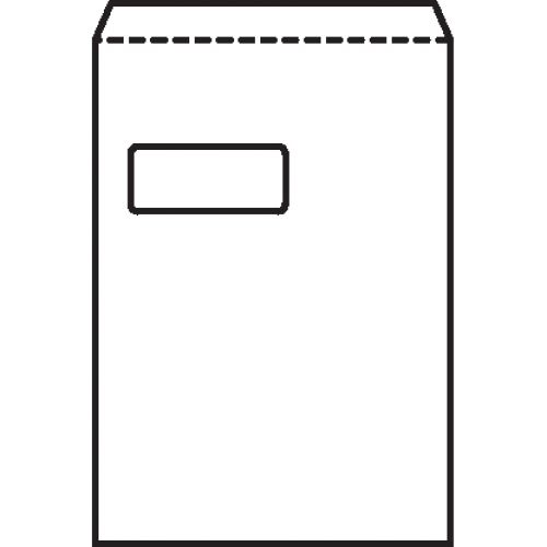 New Guardian Envelopes Heavyweight Pocket Press Seal Window Manilla C4 [Pack 250]