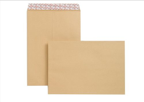 New Guardian Envelopes Heavyweight Pocket Peel and Seal Manilla C3 [Pack 125]