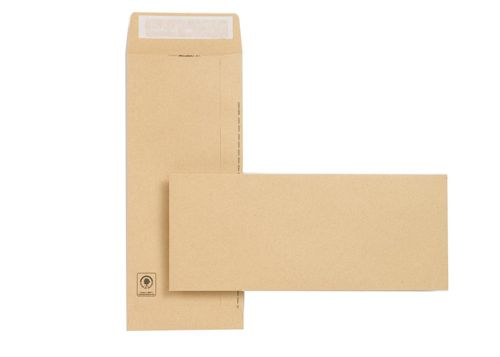 New Guardian Envelopes Heavyweight Pocket Peel and Seal Manilla 305x127mm[Pack 250]