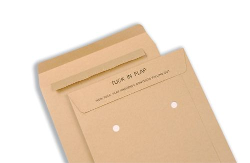 New Guardian Internal Mail Envelopes Pocket Tuck-in Flap 125gsm Manilla C4 [Pack 250]
