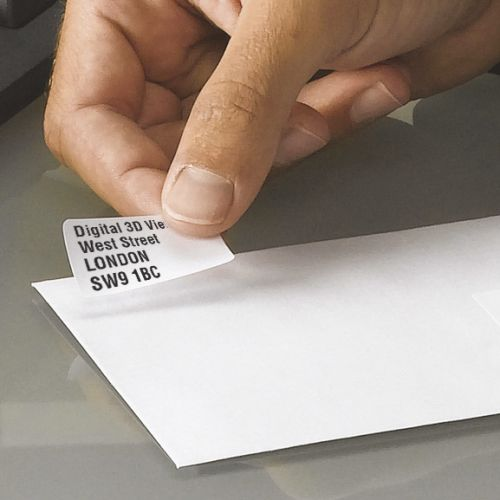 Avery Media Labels Laser 35mm Film Slides 84 per Sheet 46.0x11.1mm Ref L7656-25 [2100 Labels]