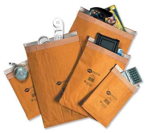 Jiffy Padded Bag Envelopes No.7 Brown 341x483mm Ref JPB-7 [Pack 50]