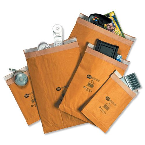 Jiffy Padded Bag Envelopes No.0 Brown 135x229mm Ref JPB-0 [Pack 200]