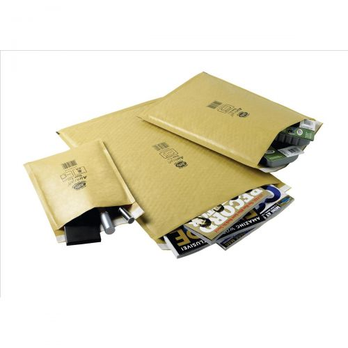 Jiffy Airkraft Bubble Bag Envelopes No.8 Gold 440x620mm Ref MAKC04221 [Pack 50]