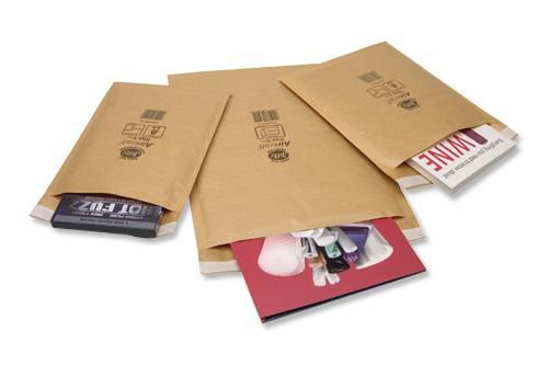 Jiffy Mailmiser Bag Selection Box 10xNo000 10xNo00 10xNo0 5xNo1 5xNo2 5xNo4 Gold Ref 45-6 [Pack 45]