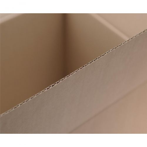 Packing Carton Single Wall Strong Flat Packed 203x203x203mm [Pack 25]