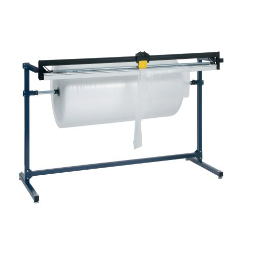 Stand and Cutter Dispenser for Single Bubble Roll Width 1500mm Ref PLU001