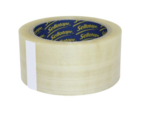 Sellotape Superseal Case Sealing Tape Polypropylene 50mmx66m Clear Ref 1445171 [Pack 6]