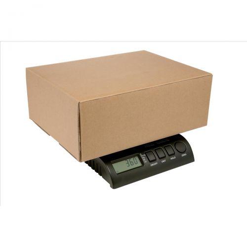 Postship Multi Purpose Scale 5g or 10g Increments Capacity 34kg Black Ref PS3400B