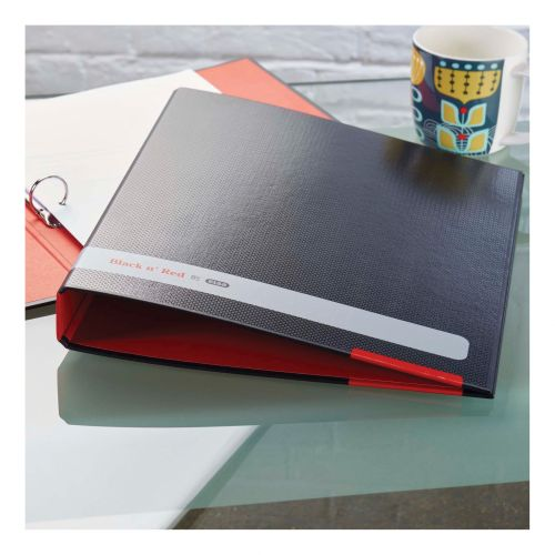 Black n Red by Elba Ring Binder Size 25mm A4 Ref 400051510