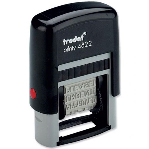 Trodat Printy 4822 Multi-word Band Stamp 12 words 4mm print Ref 74046