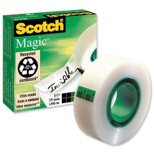 Scotch Magic Tape 19mmx66m Matt Ref 8101966