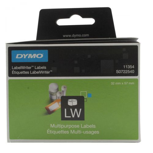 Dymo LabelWriter Labels MultipurposeWhite Ref 11354 S0722540 [Pack 1000]