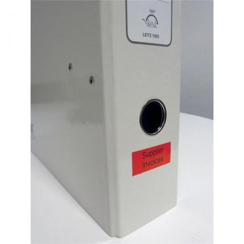 Leitz Icon Label Cartridge Permanent Plastic 12mmx10m White Ref 70150001