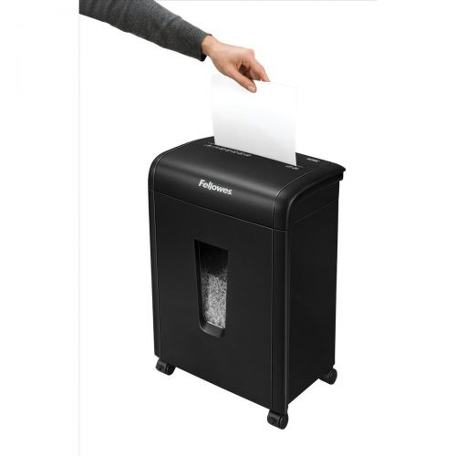 Fellowes 62MC Deskside Shredder 3.0x10mm Micro Cut 19 Litre P-5 10 Sheets Ref 4685301