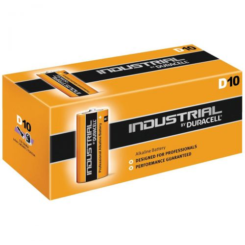 Duracell Industrial Battery Alkaline 1.5V D Ref 81451917 [Pack 10]