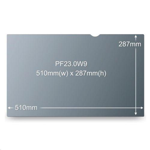 3M Black Privacy Filter 23 inch Ref PF23.0W9