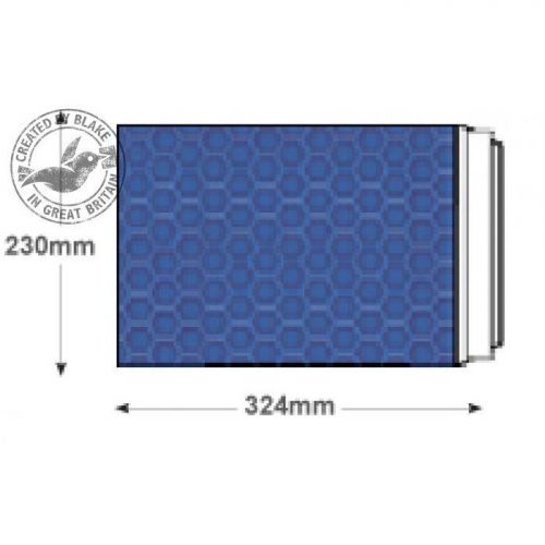 Purely Packaging Envelope P&S C4+ 324x230mm Padded Met Blue Ref MBBLU324 [Pk 100] *3 to 5 Day Leadtime*