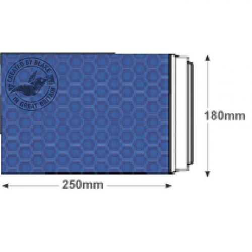 Purely Packaging Envelope P&S 250x180mm Padded Met Blue Ref MBBLU250 [Pack 100] *3 to 5 Day Leadtime*