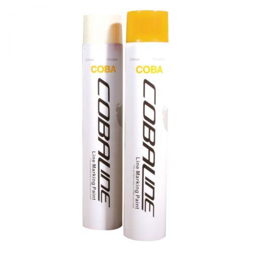 Cobaline Marking Spray CFC-free Fast-dry 750ml Yellow Ref QLL00007P [Pack 6]