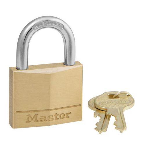 Masterlock Padlock Brass 40mm Ref 140D