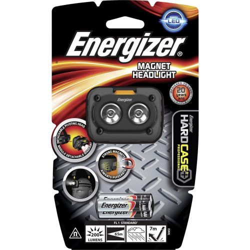 Energizer Hardcase Pro Headlight LED Heavy-duty 200 Lumens Magnetic Ref 639826