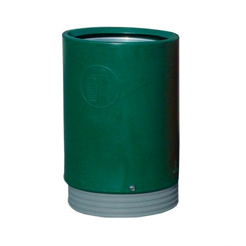 Open Top Bin Dark Green