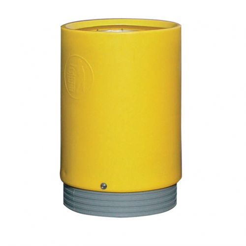 Open Top Bin Yellow