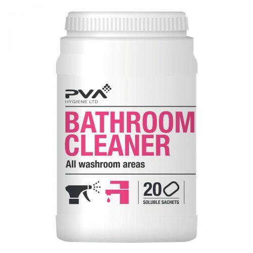 PVA Bathroom & Limescale Cleaner Sachets Ref 4018025 [Pack 20]