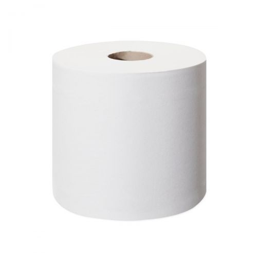 Tork SmartOne Mini Toilet Roll 2-ply 620 Sheets per Roll White Ref 472193 [12 Rolls per Pack]