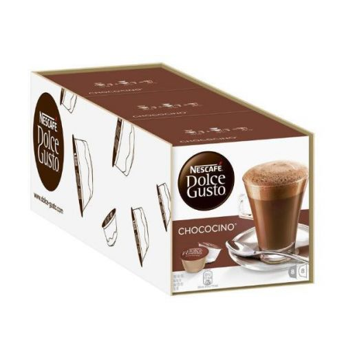 Nescafe Chococino for Nescafe Dolce Gusto Machine 24 Drinks Ref 12019670 [Packed 48]