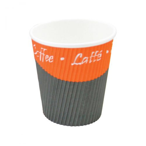 Caterpack Ripple Cups 8oz 25cl Ref RY00749 [Pack 25]