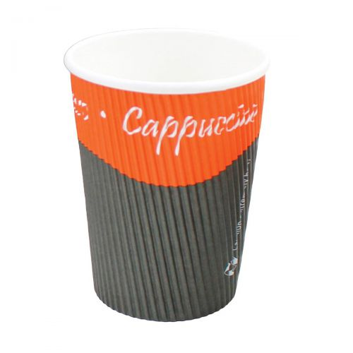 Caterpack Ripple Cups 12oz 35cl Ref RY00750 [Pack 25]