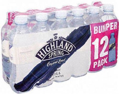 Highland Spring Water Still in Plastic Bottle 1.5 Litre Ref 22157TR [Pack 12]