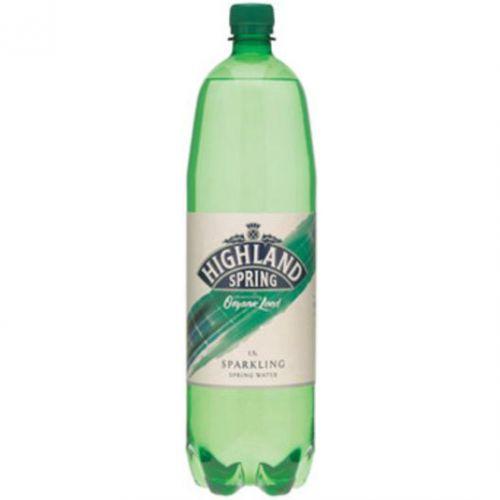 Highland Spring Water Sparkling in Plastic Bottle 1.5 Litre Ref SGL21117/88 [Pack 8]