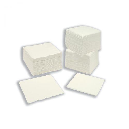 Paper Napkins Square 2 Ply 400x400mm White [Pack 250]