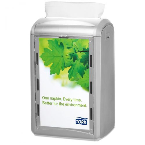 Tork Xpressnap Counter Napkin Dispenser One-at-a-Time Grey Ref 272513