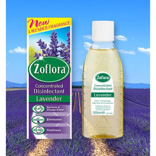 Zoflora Disinfectant Concentrated Lavender 500ml Ref 664