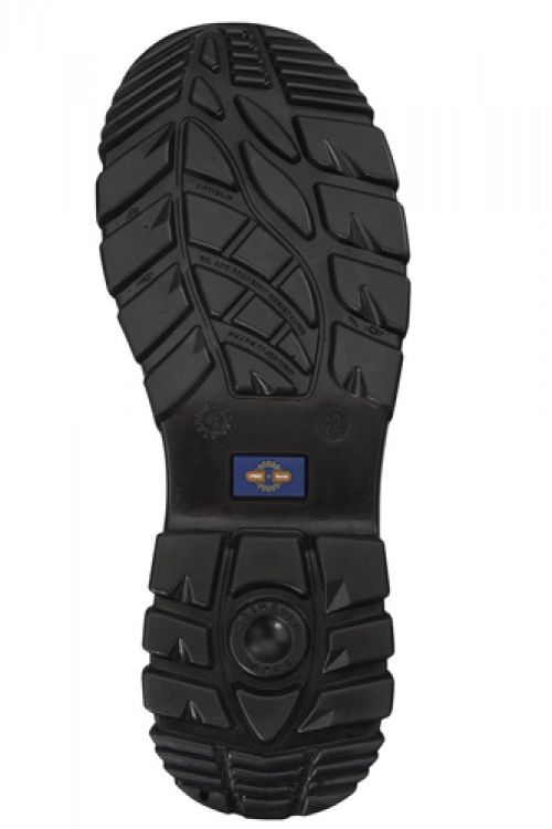 Rockfall ProMan Trainer Suede Fibreglass Toecap Black Size 15 Ref PM4040 15
