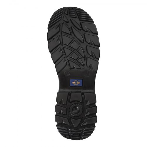 Rockfall ProMan Boot Suede Fibreglass Toecap Black Size 4 Ref PM4020 4