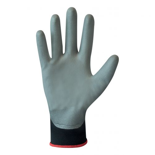 Polyco Matrix Safety Gloves PU Coated Palm Breathable Liner Size 8 Ref GH100/08 [Pack 12]